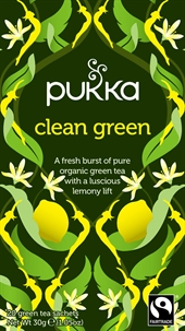 Pukka Clean green the med lemon