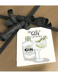 Mouse & Pen Kort - You are the Gin to my tonic (A7)