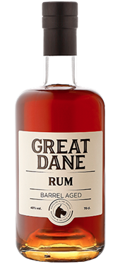 Great Dane Rum 40% 70 cl