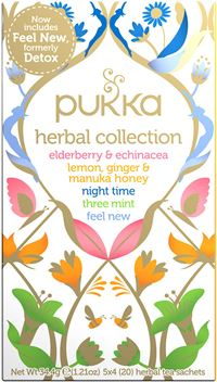 Pukka Herbal Collection tea sampak - øko