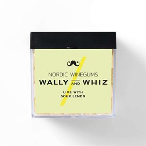 Wally and Whiz Lime med sur citron - Gourmet vingummi 140 g