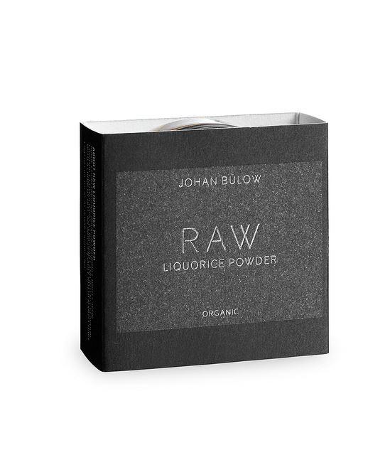 Bülow Lakrids Opskrifter raw powder fra lakridsjohan bülow - rålakridspulver 40 g i