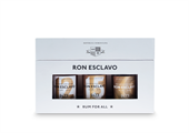 Ron Esclavo Mini Giftbox - Den Dominikanske Republik -3 x 5cl