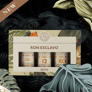 Ron Esclavo Mini Giftbox - Den Dominikanske Republik 3 x 5cl
