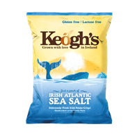 Keogh's Irish Atlantic Sea Salt Chips 125 g