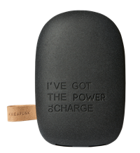 toCHARGE - Power Bank - Black Edition fra KREAFUNK